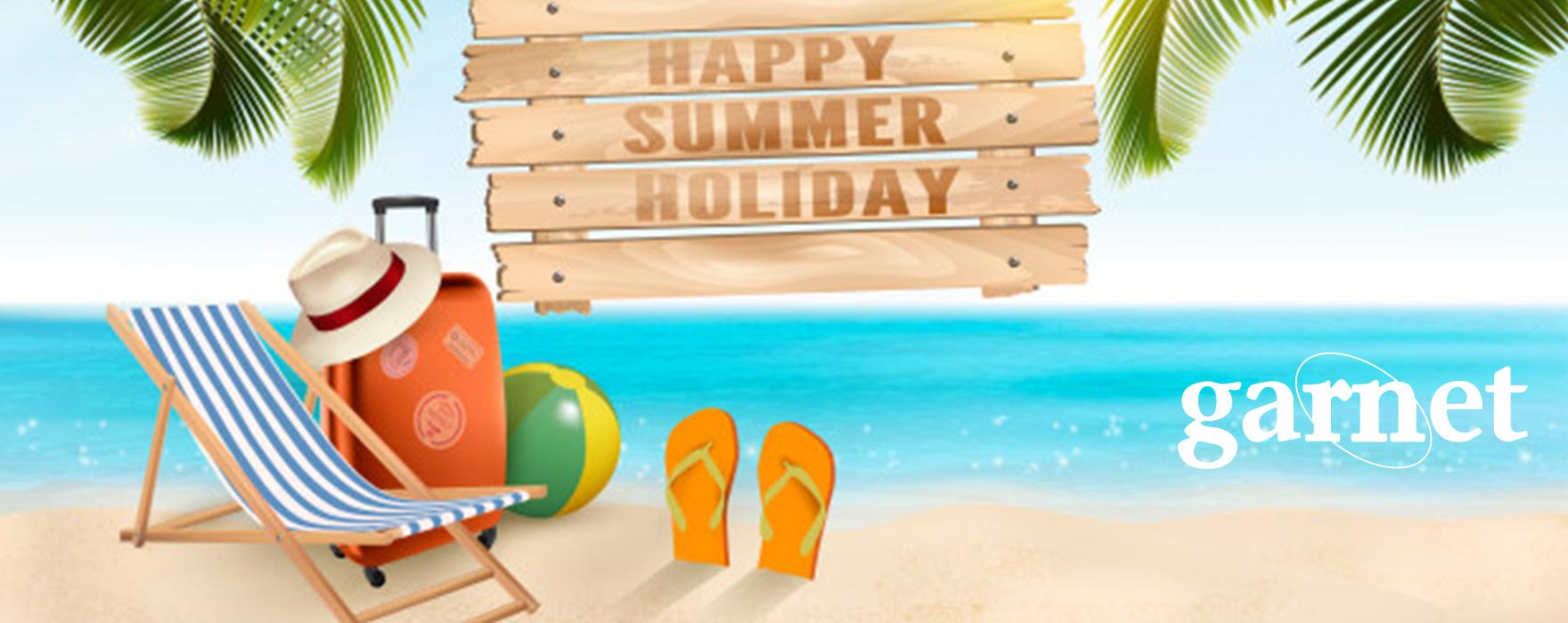 summer Garnet wishes you Happy Holidays!
